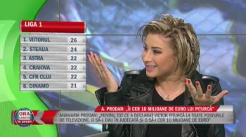 """Anamaria Prodan l-a dat in judecata pe Piturca: """"Daca nu iau 10 milioane, macar 5! Ii donez pentru o echipa"""". Cui vrea sa-i dea banii"""