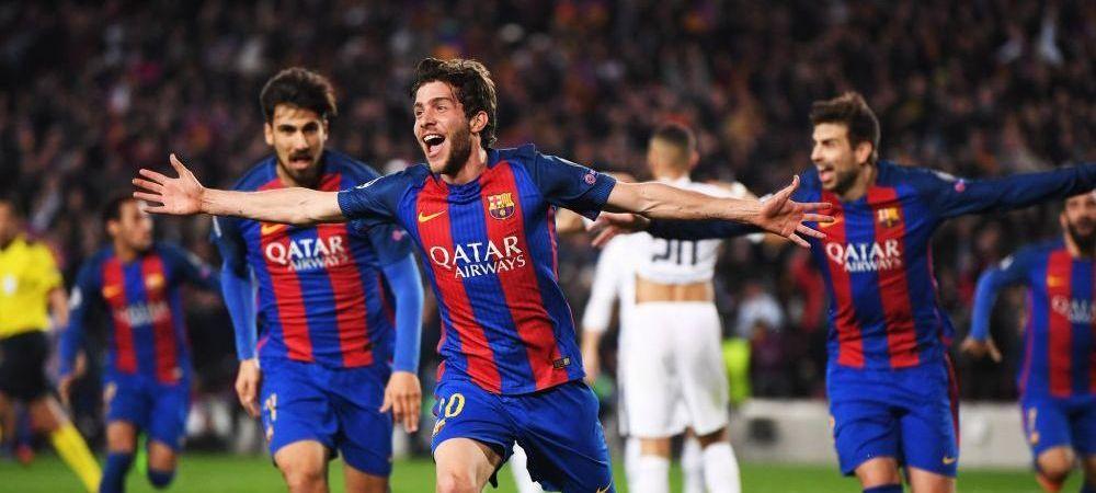 VIDEO: IREAL! CUTREMURATOR! EXTRATERESTRU! Barcelona 6-1 PSG! Barcelona a marcat 3 goluri din minutul 89! Dortmund 4-0 Benfica! 3 goluri Aubameyang! AICI AI REZUMATELE
