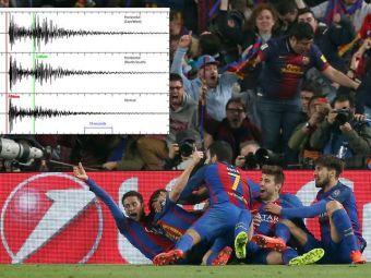 S-a miscat PAMANTUL! Golul marcat de Sergi Roberto cu PSG a provocat cutremur in Barcelona