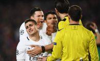 Dezvaluire SOCANTA! Ce le-a spus arbitrul jucatorilor de la PSG in timpul macelului cu Barcelona