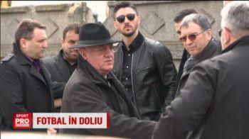 Vasile Turcu a fost condus pe ultimul drum de fostii prieteni din fotbal: Dragomir, Argaseala si Marica au dus coroane