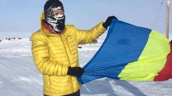 Un ROMAN conduce maratonul de 566 km de la Polul Nord: poarta 4 perechi de pantaloni si are degeraturi la un picior