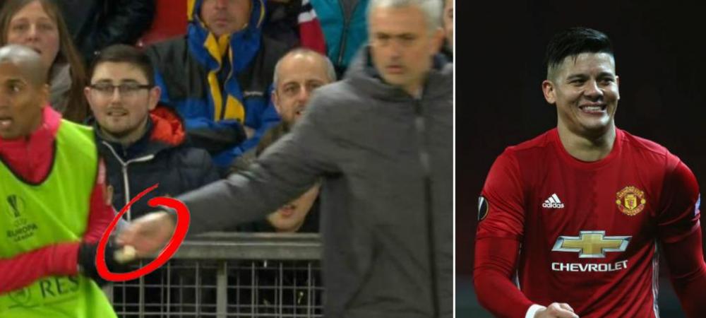 """""""Ia asta si da-i-o lui Rojo, ca e lesinat"""" :)) Faza rar intalnita pe teren, la United - Rostov. Cum a explicat Mourinho"""