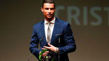 Ronaldo a luat premiu pentru ca a dus titlul EURO acasa: a fost desemnat cel mai bun jucator portughez in 2016
