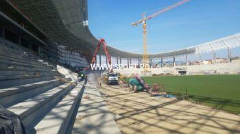 "FOTO EXCLUSIV   ""In doua luni ar putea fi gata"". Cum arata unul dintre noile stadioane moderne ale Romaniei"