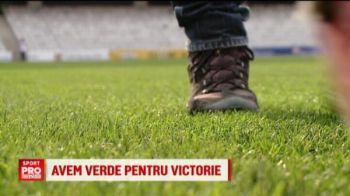 Porumbeii au INTERZIS pe Cluj Arena! :) Cum e pregatit meciul cu Danemarca