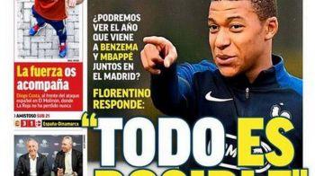"""Ajunge Mbappe la Real Madrid? """"Totul este posibil!"""" Anuntul facut de Florentino Perez"""
