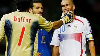 """""""La meciul meu de retragere o sa lovesc pe cineva cu capul, ca Zidane"""" :) ISTORIE: Buffon joaca azi MECIUL 1000"""