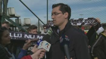 """""""No, ne lasati sa jucam in Liga a 3-a? :) Burleanu, spre proiectul U Cluj: """"Asta e modelul viitorului!"""""""