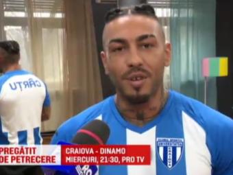 """Alex Velea, cel mai aprig fan al Craiovei cu Dinamo: """"Am sange alb-albastru"""". Craiova - Dinamo, miercuri, 21:30, la ProTV"""