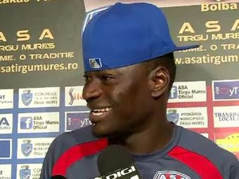 Domnu' antrenor Usmanescu! Ce surpriza: Senegalezul N'Doye s-a facut antrenor in fotbalul romanesc! Unde lucreaza