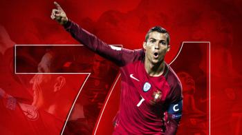 GOOOL Ronaldo. Cristiano, la o borna istorica: a intrat in TOP 3 marcatori europeni cu golul din aceasta seara. VIDEO