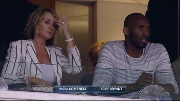 """Cuvinte superbe pentru Nadia, adresate de uriasul Kobe Bryant: """"Mult succes!"""""""