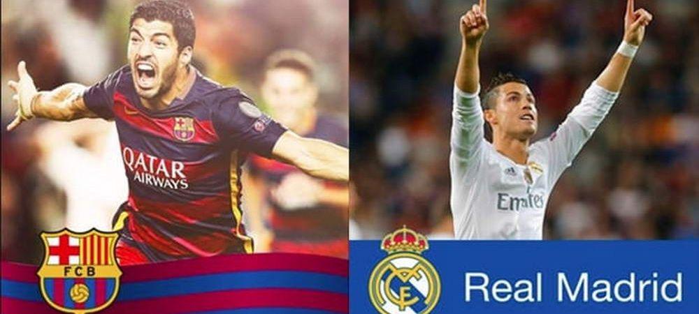 El Clasico, pe Facebook! Barca si Real s-au luat la intrecere sambata noapte! Cine a ajuns prima la 100 de MILIOANE de fani!