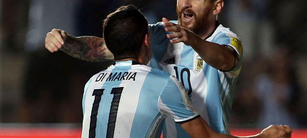 """Nu a fost doar Messi, si eu i-am injurat pe arbitri!"" Dezvaluirea facuta de Angel Di Maria"