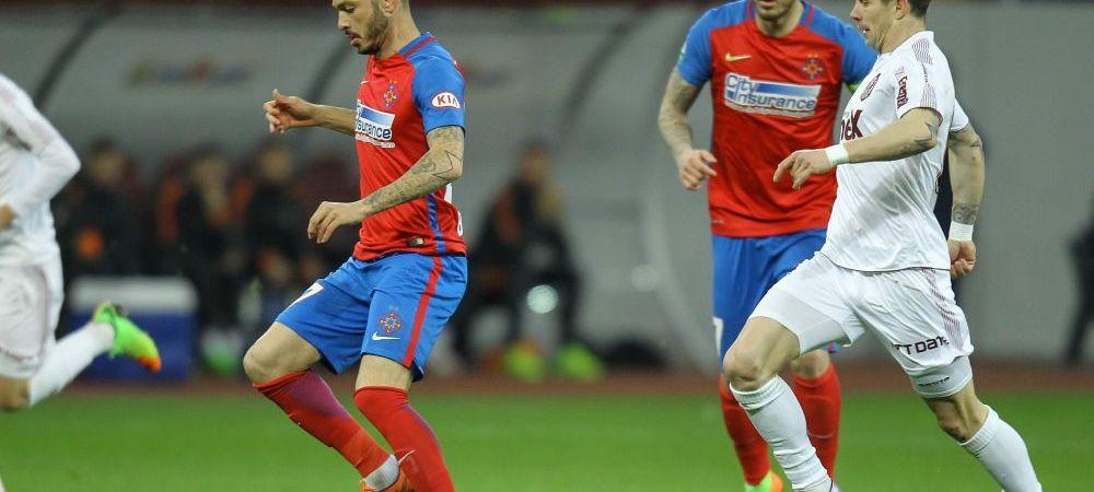 """""""Eu joc la Steaua, nu FCSB"""" Reactia lui Boldrin dupa golul marcat cu Dinamo"""