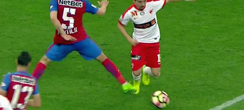 """Dinamovistii, dupa faza care le putea aduce un punct: """"Kovacs a inchis ochii la un penalty"""". Stelistii: """"Am jucat contra arbitrului"""""""