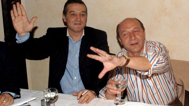 """""""V-as lua stelele de pe umeri, domnilor generali!"""" Traian Basescu se implica in scandalul FCSB-CSA"""