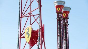 FOTO Ferrari si-a inaugurat astazi bijuteria de 100 de milioane de euro: primul parc tematic din Europa
