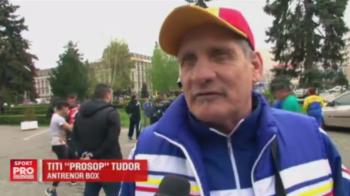 """Titi """"Prosop"""" ameninta cu greva foamei, dupa ce si-a scos sportivii la protest in fata Primariei din Ploiesti. Ce nemultumiri are"""