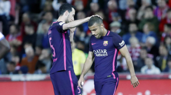 Barcelona a pierdut un jucator pentru restul sezonului, chiar inaintea super bataliei cu Juventus (marti, 21:45, ProTV)