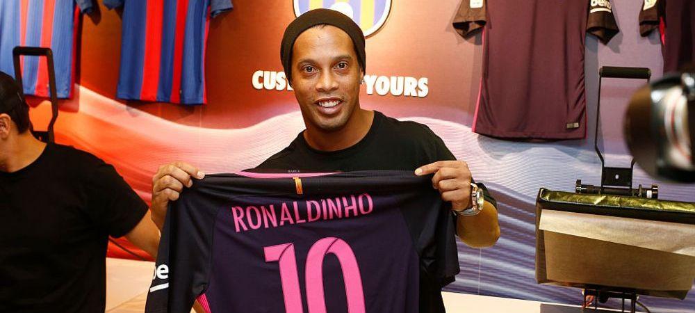 """Da, as fi putut juca acolo! Dar nu regret nimic"". Ronaldinho a vorbit in premiera despre transferul care ar fi schimbat istoria"