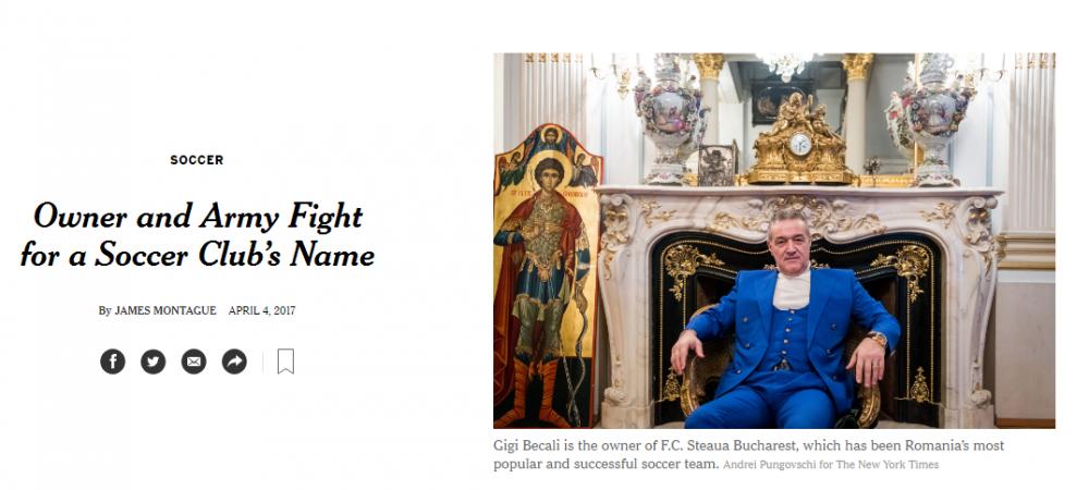 """Jurnalistul roman care i-a facut pe americani sa inteleaga """"Razboiul Stelelor""""! Becali: """"Nu discursul lui Basescu, ci articolul din New York Times a contat cel mai mult!"""""""
