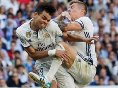 Doua coaste rupte si Pepe rateaza tot sezonul dupa ce a fost lovit de Toni Kroos!