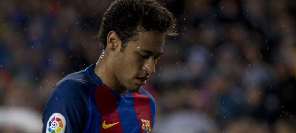 Alerta la Barcelona: Neymar poate rata El Clasico, decisiv pentru titlu, pentru ca si-a legat sireturile la ghete!