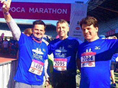 6000 de oameni au alergat azi la Cluj: maratonul de 42 de km a fost castigat de un kenyan!
