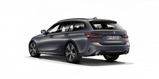 BMW nu renunta la BREAKURI, vezi cum arata noul SERIA 3 TOURING!