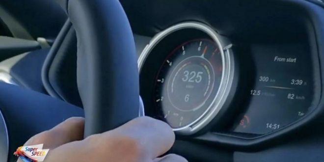 VIDEO: 325 la ora cu ASTON MARTIN DB11 V12 de 630 CAI!!!