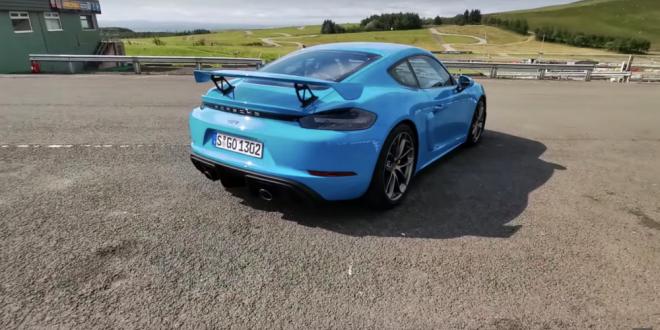 VIDEO: cel mai nou Porsche are motor de 4 litri si cutie de viteze… MANUALA!!!