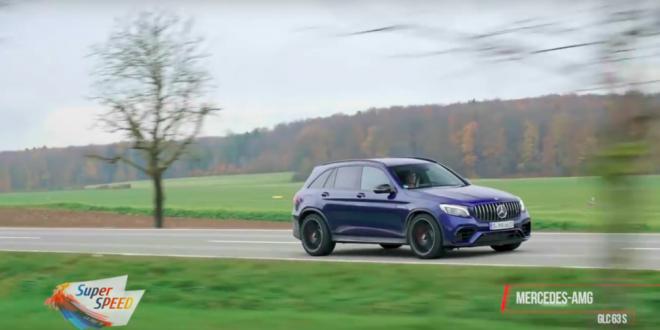 VIDEO: cum se conduce SUPERCAR-ul SUV-urilor, GLC AMG de 510 CP!