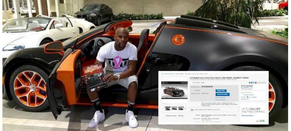 N-a ramas fara bani, dar nu prea mai are loc in garaj :) Mayweather si-a pus la vanzare doi dintre bolizi. Cati bani cere