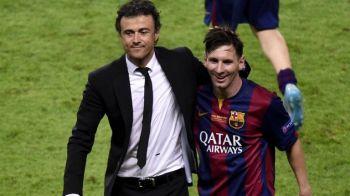 """Luis Enrique pregateste o nebunie pentru returul cu Juventus: tactica 2-8! """"Jucam cu 8 atacanti, nu avem ce sa pierdem"""""""