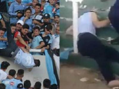 UPDATE | Suporterul aruncat din tribuna a murit! Film de groaza: agresorul este asasinul fratelui sau!