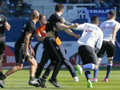 ULTIMA ORA | Liga franceza ia in calcul EXCLUDEREA din campionat dupa incidentele de la Bastia - Lyon