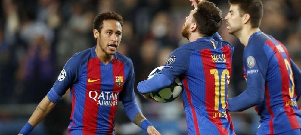 """""""Sa nu lasam rechinii sa simta miros de sange!"""" Returul de pe Camp Nou se transforma intr-un blockbuster cu super eroi! Neymar: """"Ne putem califica!"""""""