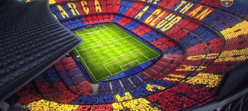 O coregrafie speciala pentru o noua REMONTADA. Cum va arata Camp Nou la Barcelona - Juventus. Catalanii au prezentat planul: FOTO