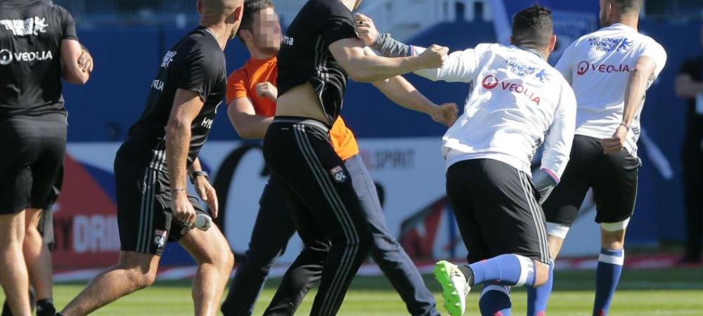 """Decizia luata de Bastia dupa bataia crunta care a anulat meciul cu Lyon. Sefii recurg la """"autoflagelare"""" pentru a scapa de RETROGRADARE"""