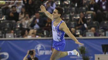 Dragulescu, singurul gimnast din lotul Romaniei calificat in finalele la sol si sarituri. Nistor s-a accidentat urat in prima zi