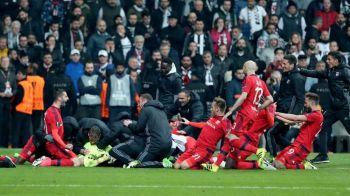 Nebunie totala la Istanbul! Lyon a eliminat-o pe Besiktas dupa 16 penalty-uri in fata a 40.000 de turci! VIDEO