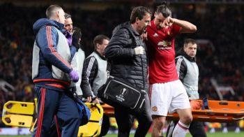 Final de cariera pentru Zlatan? Ce veste a primit dupa accidentarea din meciul cu Anderlecht