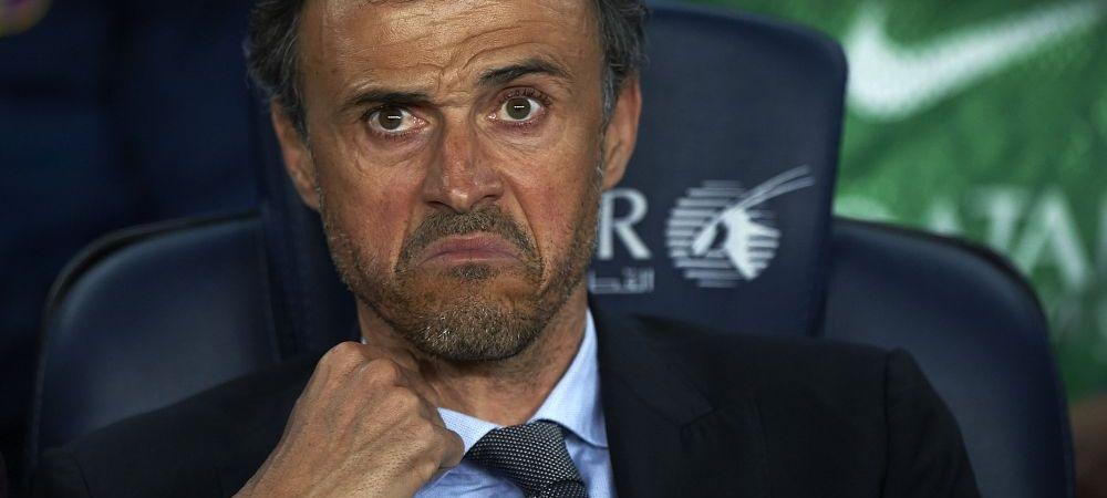 INCREDIBIL! Barcelona poate sa piarda cu 3-0 la masa verdemeciul cu Real de maine din cauza lui Luis Enrique