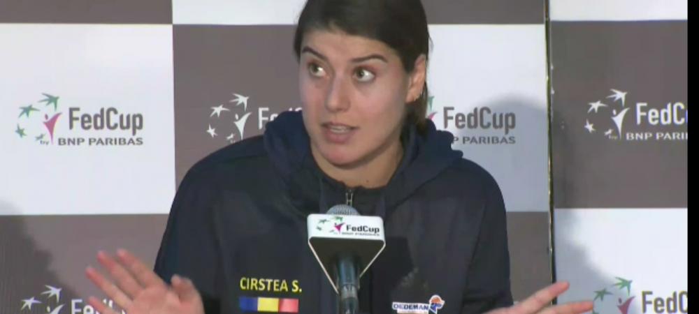 "Sorana Cirstea: ""O sa incep si eu sa plang cand voi fi condusa. Noi romanii vom fi persecutati mereu"""