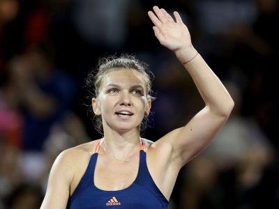 Victorie pentru Simona Halep in primul meci de la Stuttgart: 10-8 in super tie-break