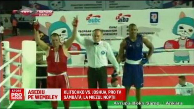 """Adversarul lui Klitschko de pe Wembley, invins de romanul Nistor la amatori: """"Puteam fi eu in locul lui!"""" Gala e sambata la ProTV"""