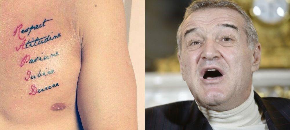 """Becali il vrea pe Ionita de la Astra dar a pus o conditie. """"Sterge tatuajul ala cu Rapid de pe piept"""" :))"""