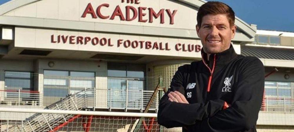 OFICIAL! Steven Gerrard va fi managerul echipei Under 18 a lui Liverpool! Anuntul facut de club
